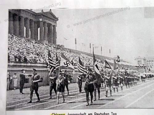 German American Bund? Tag 1937 Chicago