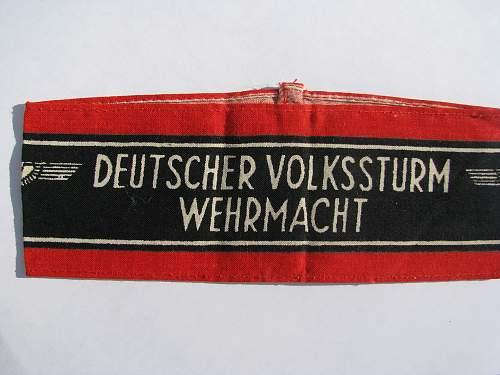 Volkssturm Equipment