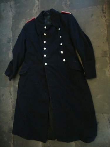 Feuerhschutz polizei mantel ?