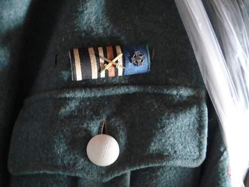 Rural policeman's uniform q's