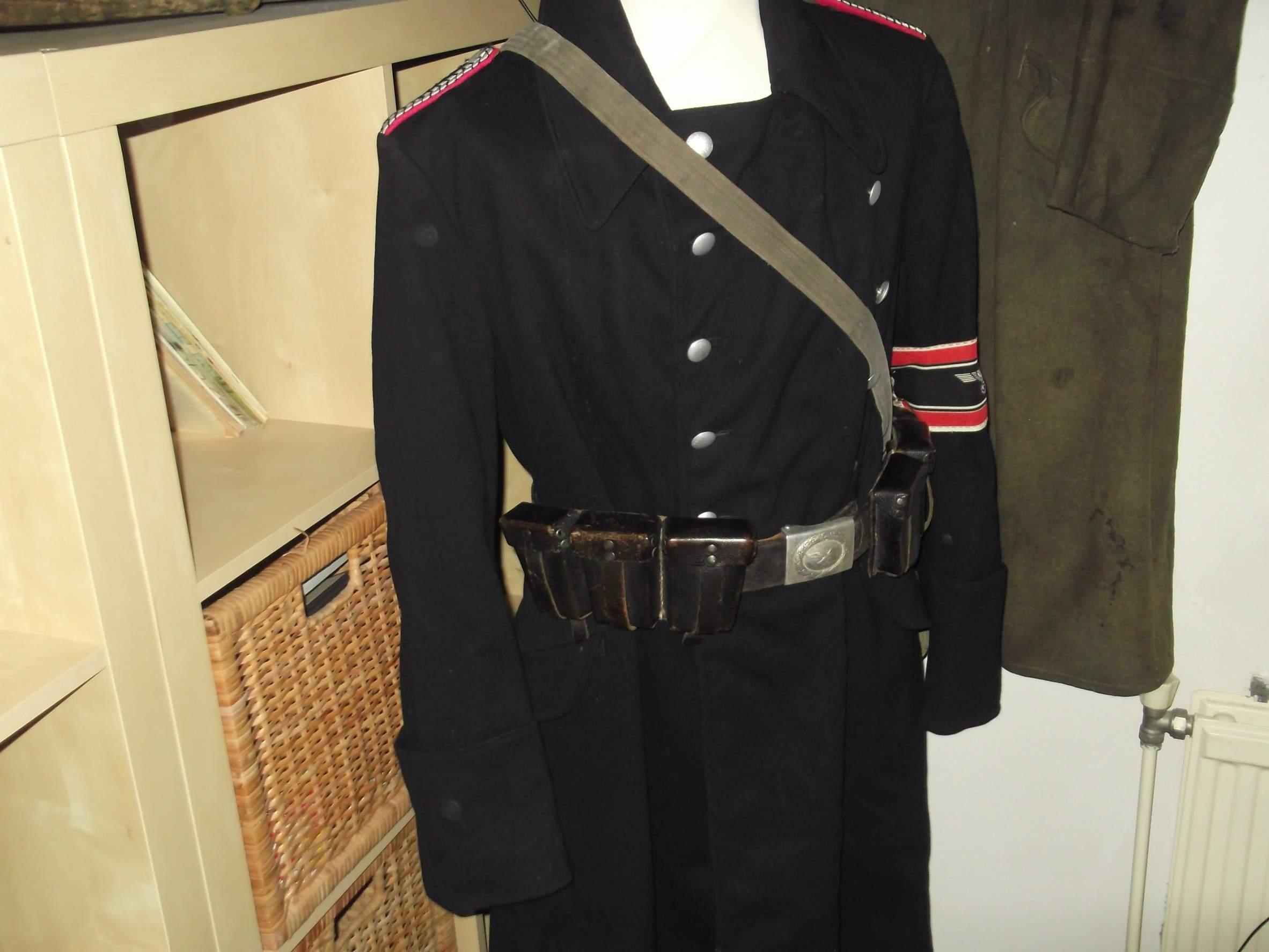 mantel polizei 1933