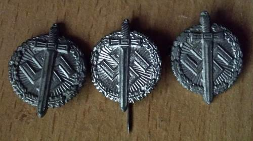 What are these called in German? Veteran contribution pin