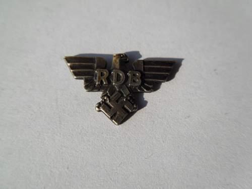 """Reichsbund der Deutschen Beamten (RDB) - """"Broken Eagle"""" - Need Help"""