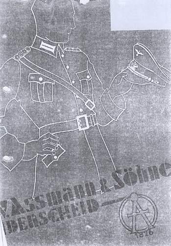 Reichsbahn or Bahnpolizei button?