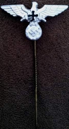 NSKOV Membership Stickpins, WW1 Veterans welfare. Real or Fake Reproduction?