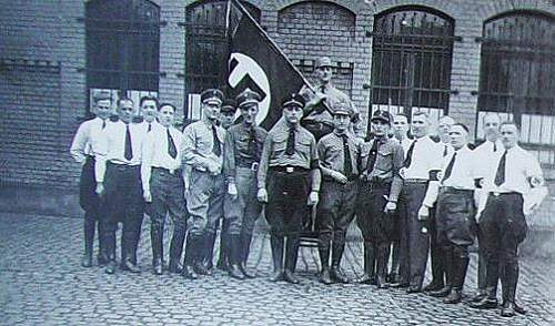 What uniforms are these men wearing?