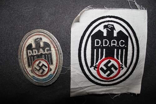 ddac shield and sports shirt cloth