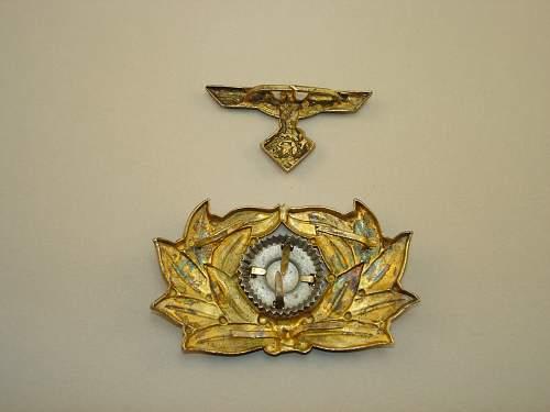 TENO Officer's Cap Insignia
