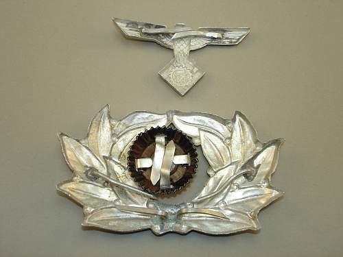 TENO Cap Insignia Aluminum