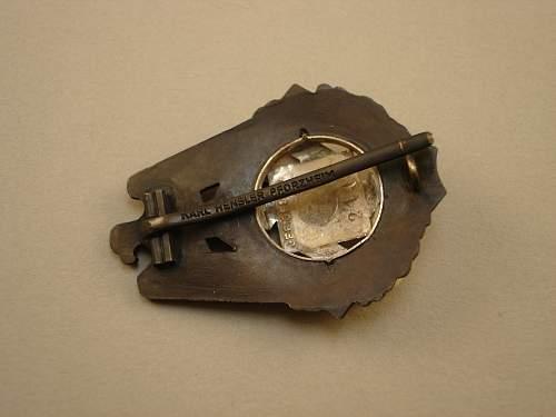 TENO Honor Badge by Karl Hensler