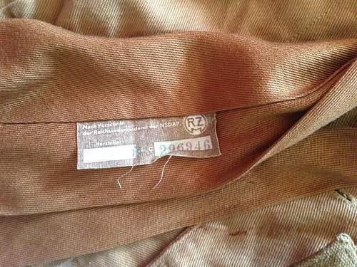 My New Sturmfurher S.A brownshirt.