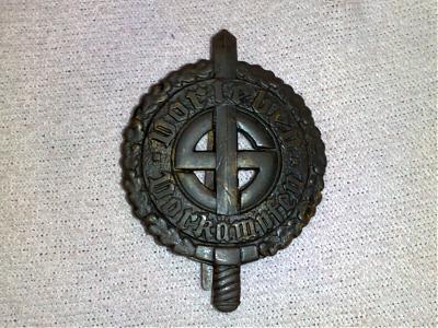 romanian volksdeutsch sports badge.