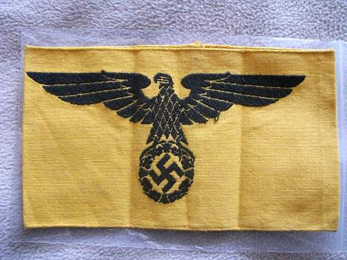 State Service Armband Received today