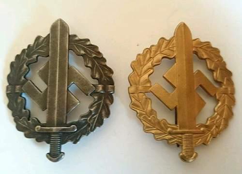 SA Sports award - Genuine or copy?