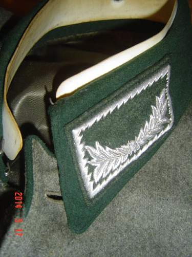 Customs tunic