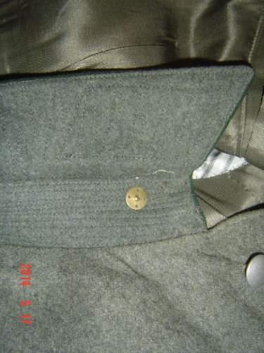 Customs tunic