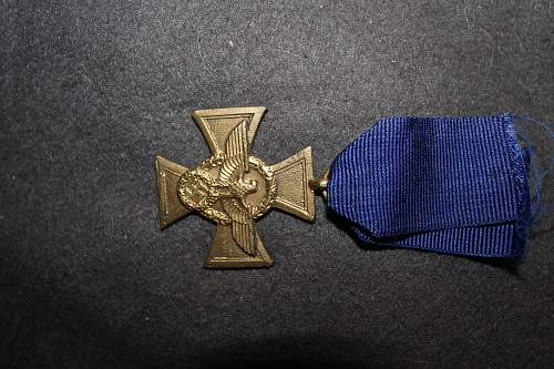 ww2 german police medal