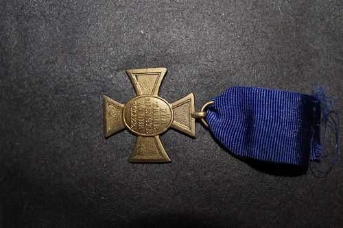ww2 german police medal