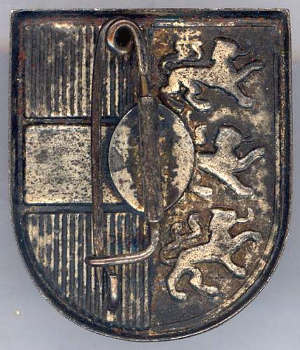 Help Needed To Identify Unknown Badge