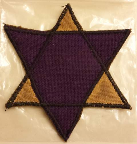 Holocaust Patch