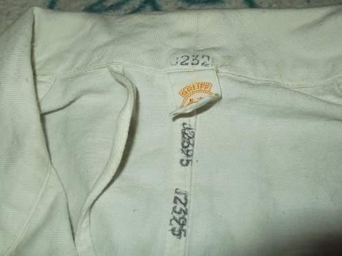 German ww2  drillich jacket?