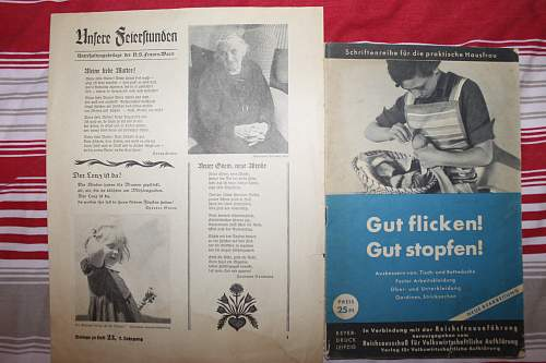 various frauenschaft items