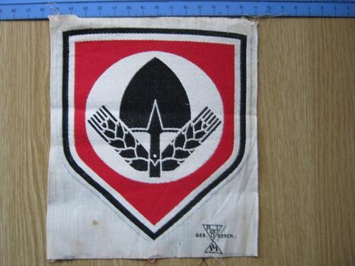 RAD sports badge