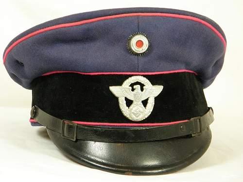 Feuerschutzpolizei collar tab variations