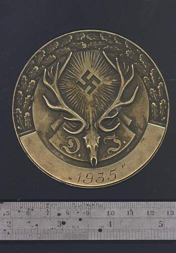 Hunting assoc medal