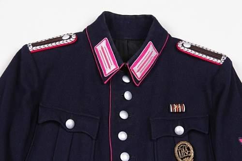 Feuerschutzpolizei tunic