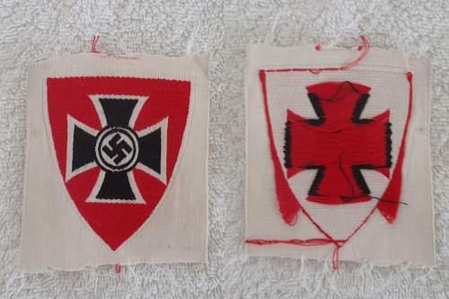 Nationalsozialistische Kriegsopferversorgung  arm patch