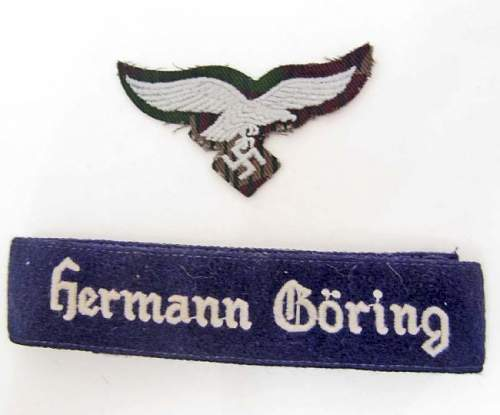 Need Help Identify This  HERMANN GORING Cuff Title