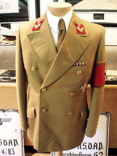 N s d a p reichslevel tunic