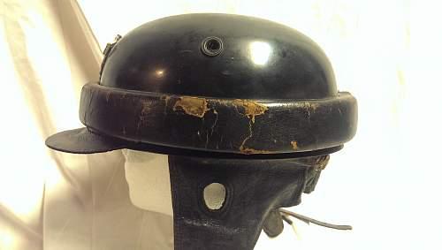 Polizei Crash Helmet