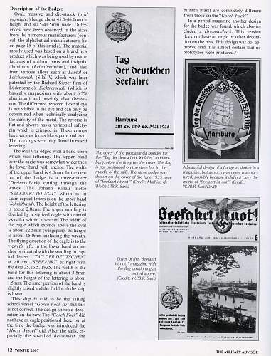 Meaning of 'Seefahrt ist Not'