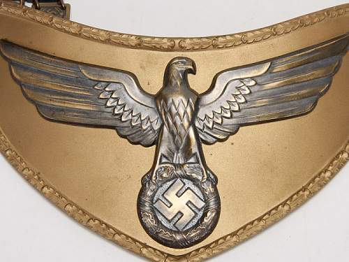 NSDAP gorget...opinions