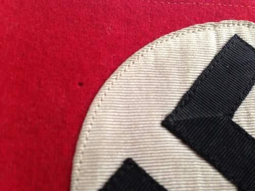 NSDAP Armband - Genuine?