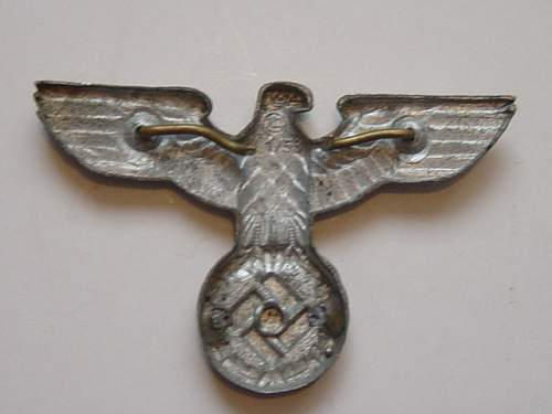 Click image for larger version.  Name:Postal workers cap eagle reverse..jpg Views:57 Size:142.7 KB ID:74865