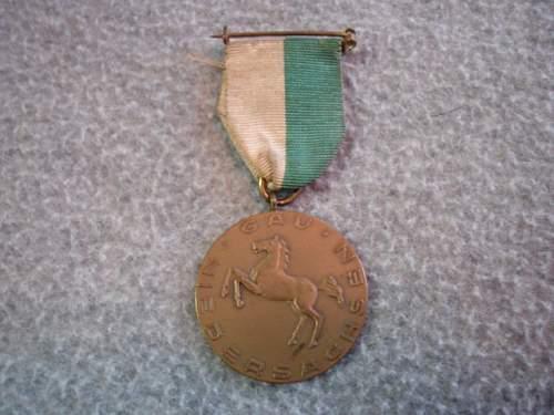 Shooting medal ?