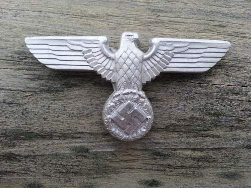 my M1/21 Political visor eagle