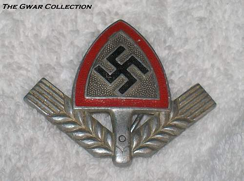Any members collecting Reichsarbidienst Cap Insignia