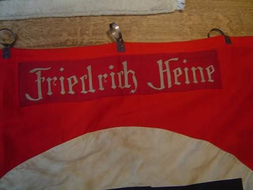 Click image for larger version.  Name:Ehrenfahne Friedrich Heine 002.jpg Views:109 Size:136.2 KB ID:7841
