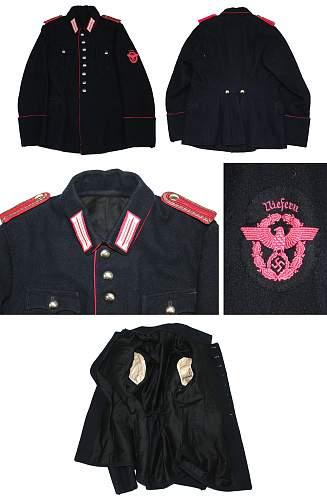 fire police tunic