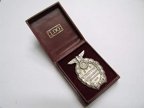 SA Trefen Badge in Box