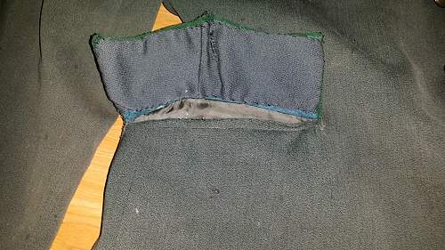 WWII German forest tunic need repair