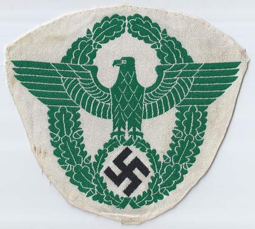 Click image for larger version.  Name:Police 2nd pattern green odd beak front (800x720).jpg Views:15 Size:207.5 KB ID:811118