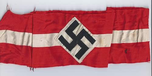 Click image for larger version.  Name:Hitler Jugend sport band .jpg Views:85 Size:229.1 KB ID:811295