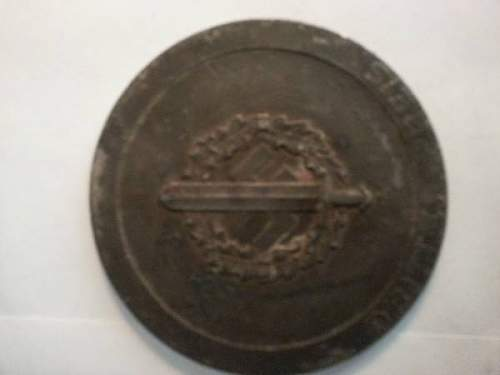Reichs Wettkampfe Der  SA Berlin considering purchashing 1938 award medallion are these reproduced?