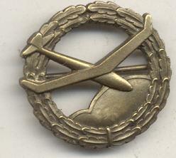 NSFK Aeromodeling Proficiency Badges - One REAL & One FAKE