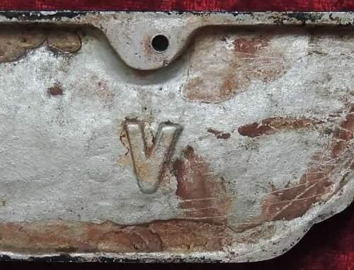 Small Railroad Eagle/Trolly Eagle V mark